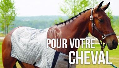 Couverture réfrigérante pour votre cheval !